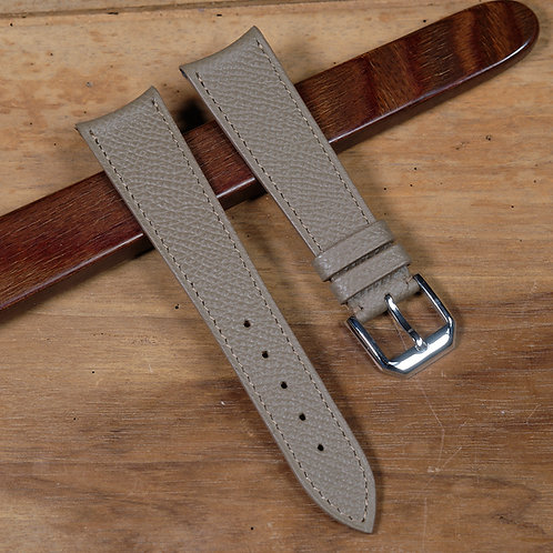Taupe  grained calfskin
