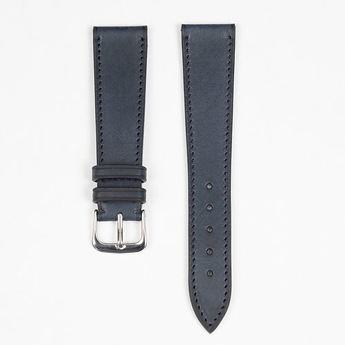 The Tuscany watch strap in Navy blue
