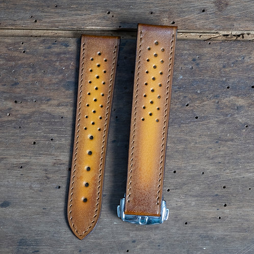 Racing patina honey  For Ω Buckle 18 mm