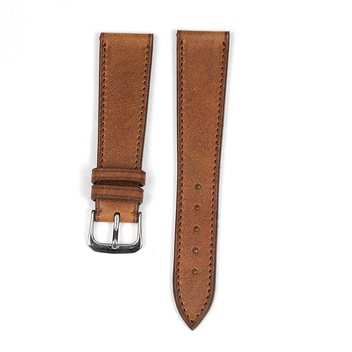 The Tuscany watch strap in old wood
