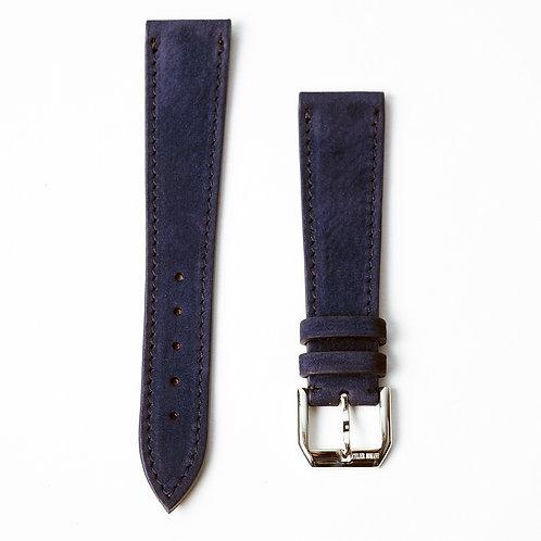 Bracelet Nubuck Cerf bleu marine