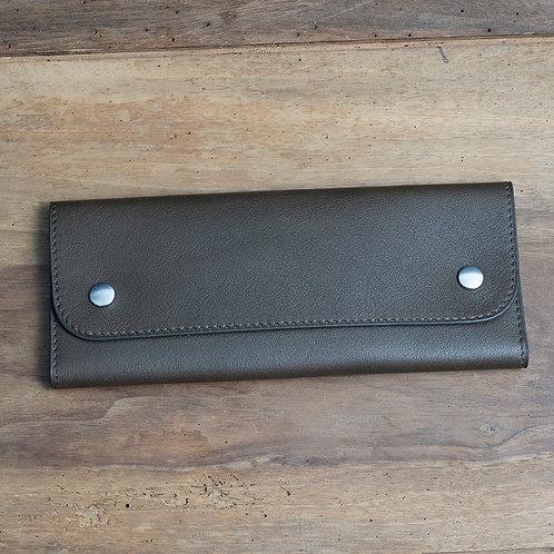 Travel watch pouch for 2 Kaki