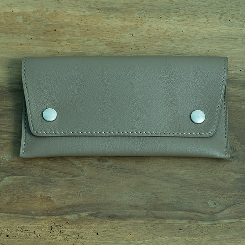 Watch pouch taupe