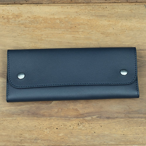 Travel watch pouch for 2 Blue