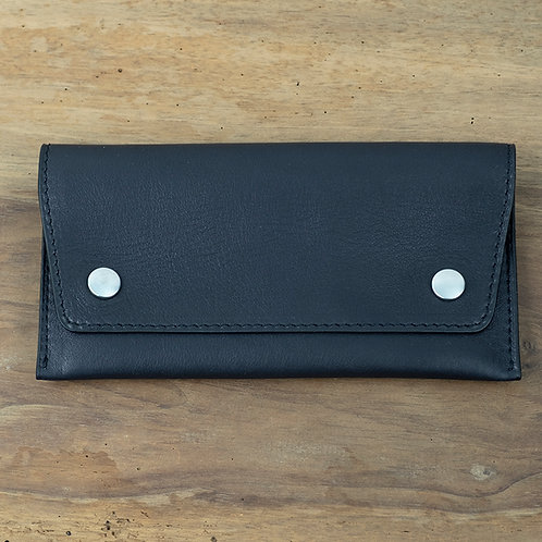 Watch pouch black calfskin