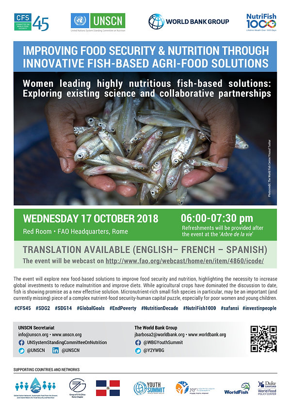 NutriFish1000 CFS45 Side Event Invitatio