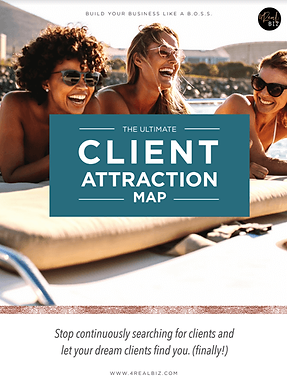 The Ultimate Client Attraction Map - For Coaches, Consultants & Creatives.