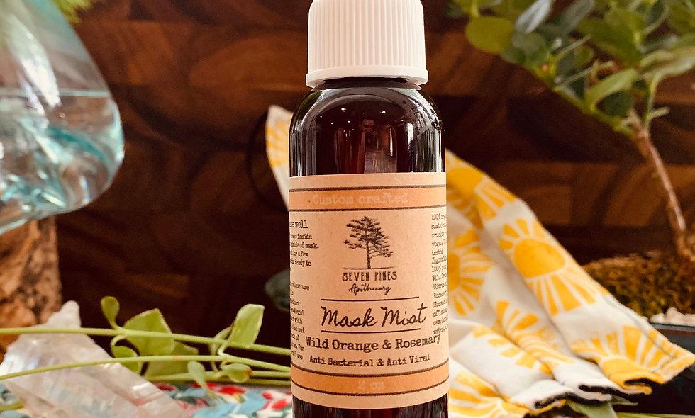 Face Mask Mist: Wild Orange & Rosemary