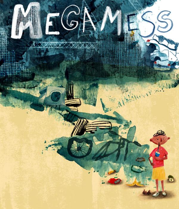 Megamess book cover for Templar Design awards