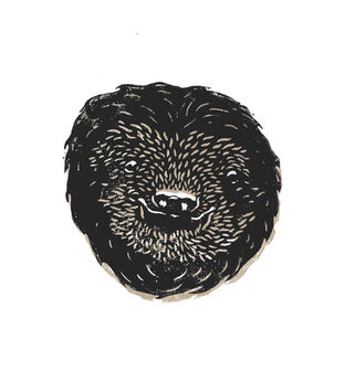 Sloth Lino Print