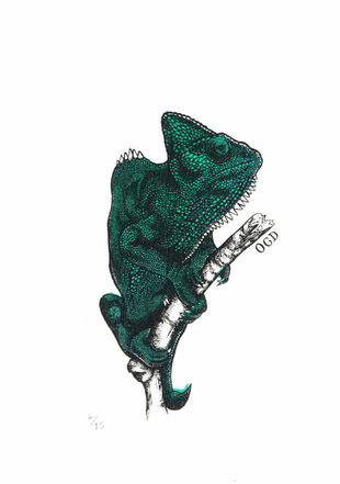Chameleon Screen Print (Limited Edition)