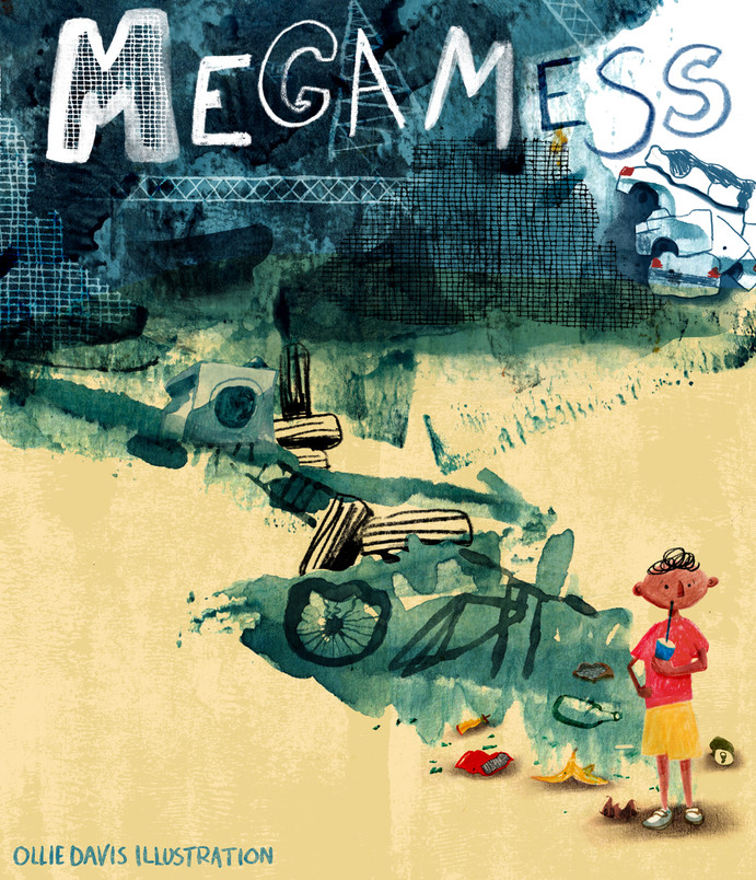 Megamess book cover for Templar Design awards 2020