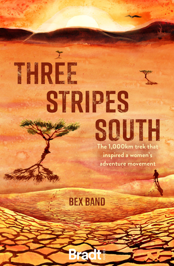 Three Stripes South Book Cover for Bradt Travel Guides