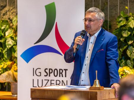 Stilvoller Anlass für Luzerner Sportpreis