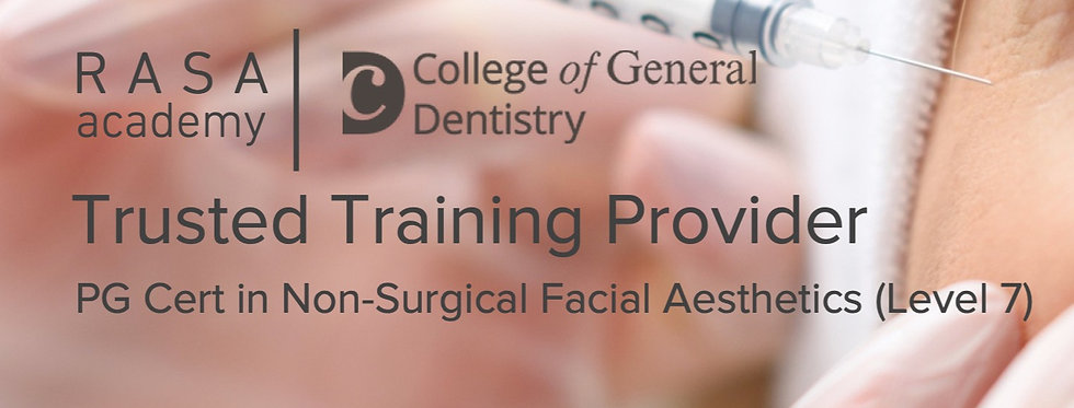 Postgraduate Certificate (Level 7) in Non-Surgical Facial Aesthetics (Deposit)