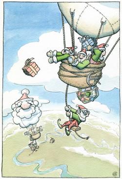 Santa's express delivery