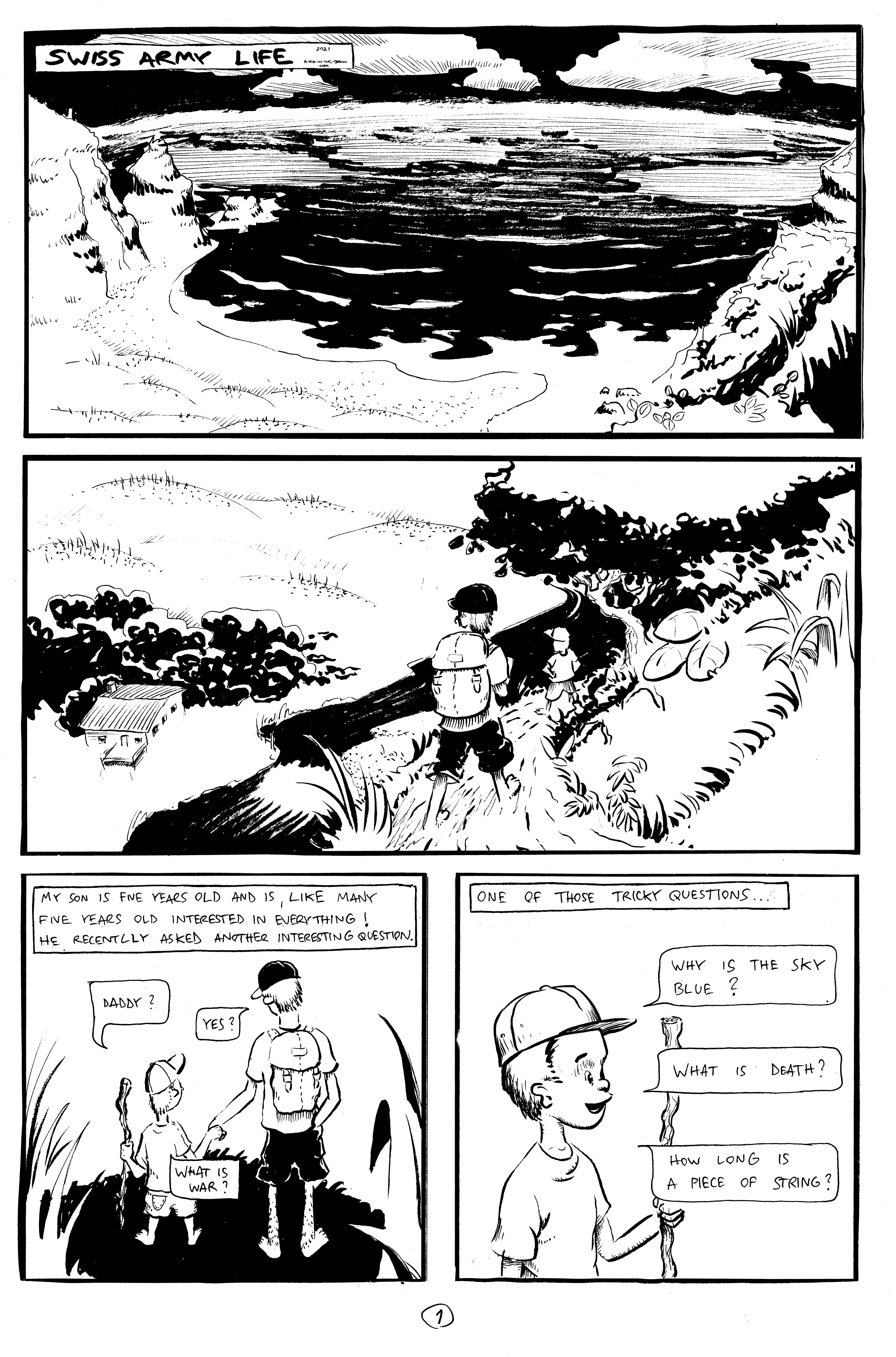 Swiss Army Life - Page 1