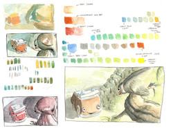 Nino - Colors studies