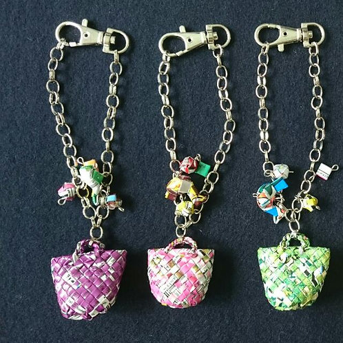 Petit tote Key holder / プティトートチャーム