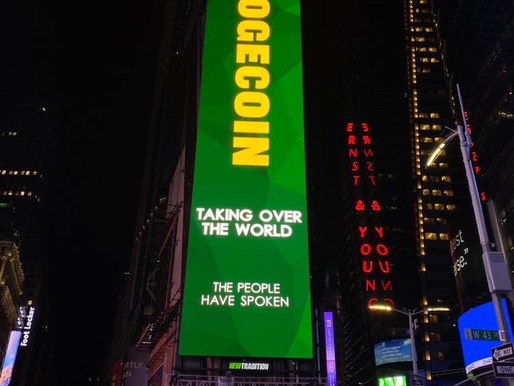 Dogecoin Billboards Are Popping Up All Over The World.