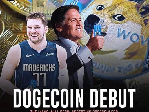 Dallas Mavericks: First NBA Team To Accept Dogecoin.