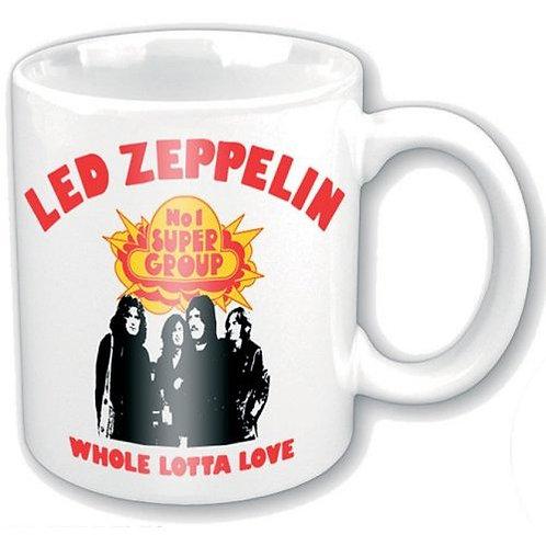 Led Zeppelin - WholeLottaLove (cană ceramică)