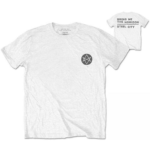 BMTH - Distorted. Imprimeu față / spate (tricou unisex)