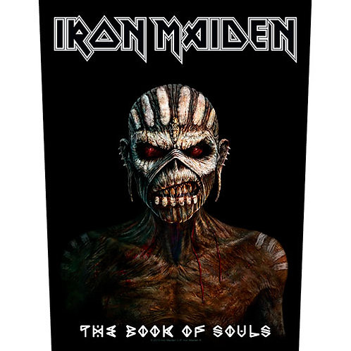 Iron Maiden - The Book Of Souls (patch - back)