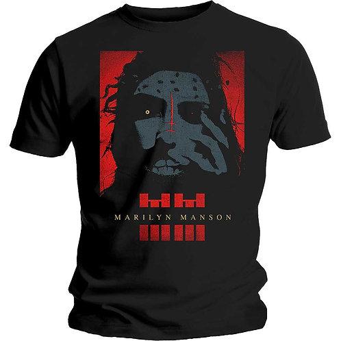 Marilyn Manson - Rebel (tricou unisex)