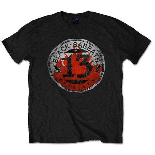 Black Sabbath - 13 Flame Circle (tricou unisex)