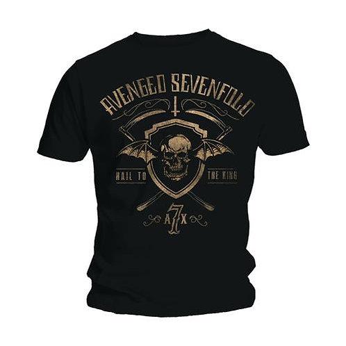 Avenged Sevenfold - Shield & Sickle (tricou unisex)