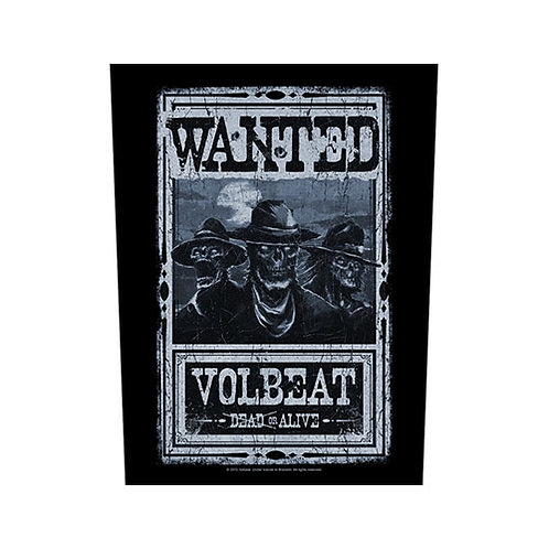 Volbeat - Wanted (patch back)
