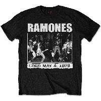 Ramones - CBGB 1978 (tricou unisex)