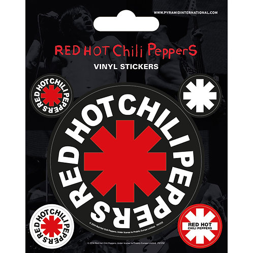 Red Hot Chili Peppers (set stickere vinyl)