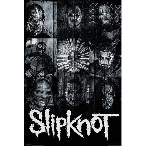 Slipknot - Masks (poster)