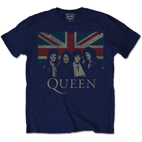 Queen - Union Jack (tricou unisex)