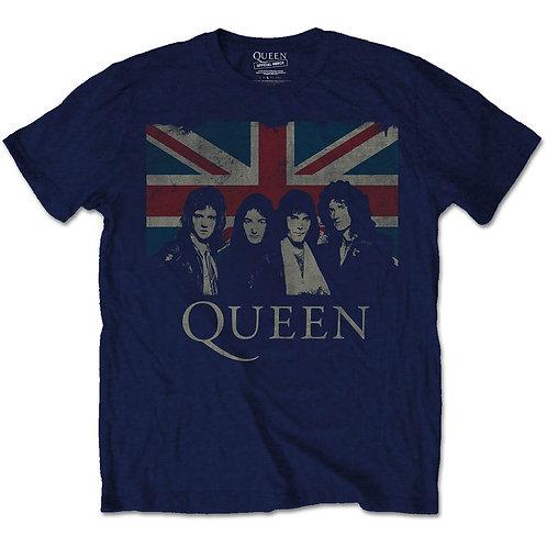 Queen - Union Jack (tricou unisex)