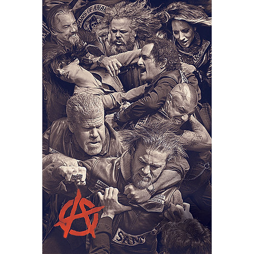 Sons of Anarchy - Fight (poster)