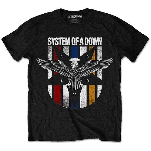 SOAD - Eagle Colours (tricou unisex)
