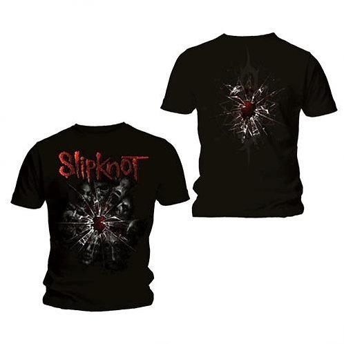 Slipknot - Shattered - imprimeu față/spate (tricou unisex)