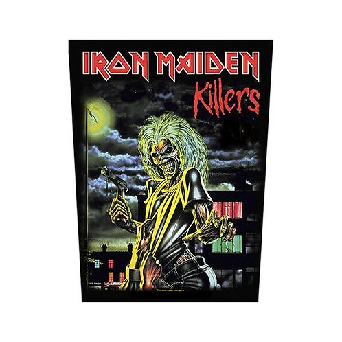 Iron Maiden - Killers (patch - back)