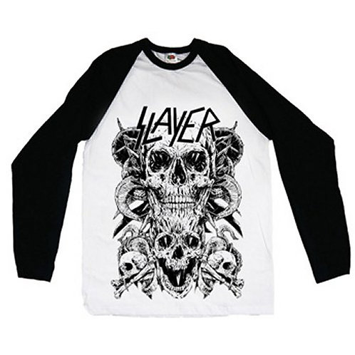 Slayer - Skulls (tricou unisex)