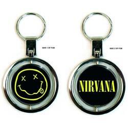 Nirvana - Smiley Logo (breloc-spinner)