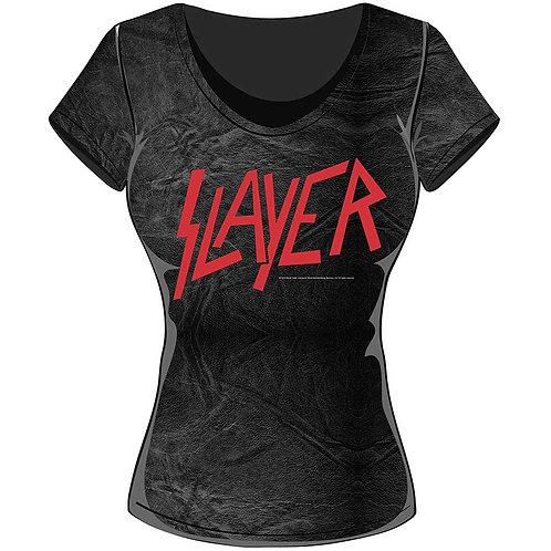 Slayer - Classic Logo (tricou damă)