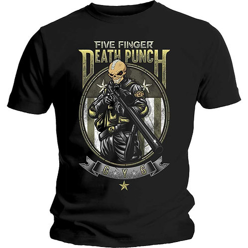 Five Finger Death Punch - Sniper (tricou unisex)