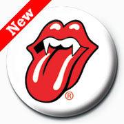 Rolling Stones - Lips Fangs (insignă)