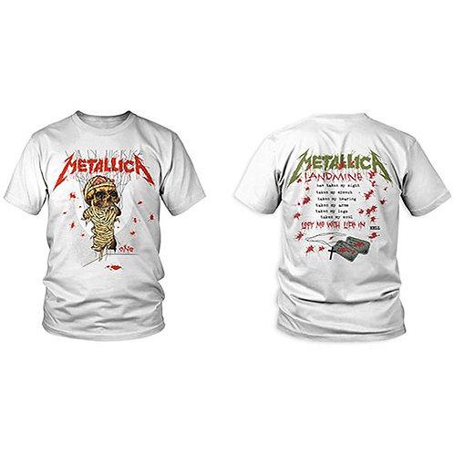 Metallica - One Landmine - imprimeu față/spate (tricou unisex)