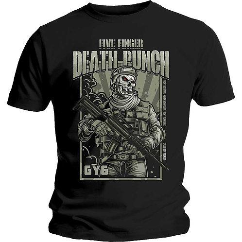 Five Finger Death Punch - War Soldier (tricou unisex)