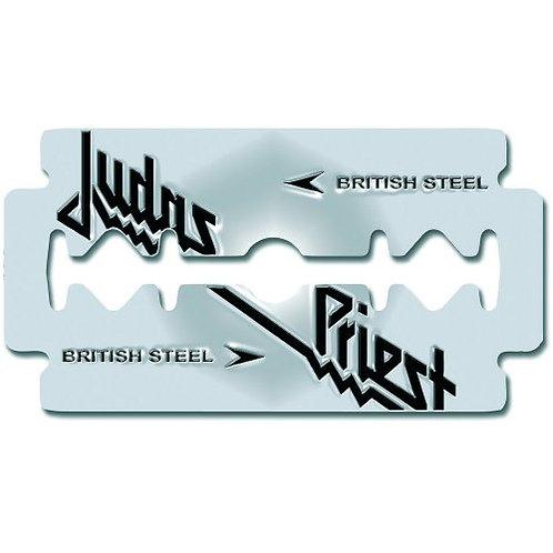 Judas Priest - British Steel (insignă metal)