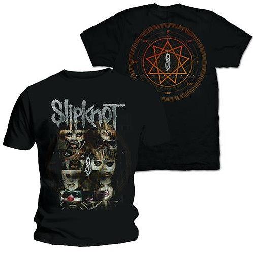 Slipknot -Creatures - imprimeu față/spate (tricou unisex)